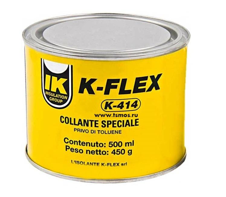 Клей K-FLEX 414 объем 0,5 литра (500 мл)